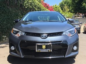 2015 Toyota Corolla S Plus  Gray  All advertised prices exclude government fees and taxes any