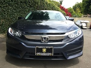 2016 Honda Civic Sedan EX  Blue  All advertised prices exclude government fees and taxes any f