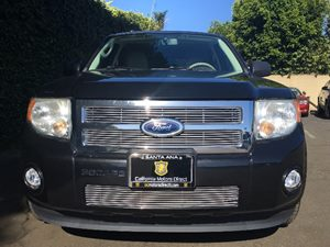 2011 Ford Escape XLT 30L V6 Flex Fuel Engine Tuxedo Black Metallic All advertised prices exclu