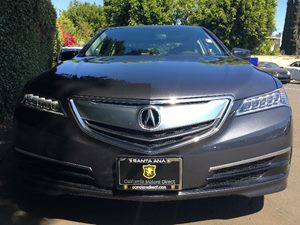 2015 Acura TLX V6  Gray  All advertised prices exclude government fees and taxes any finance c