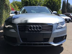 2011 Audi A4 20T quattro Premium Rear Side Airbags Ice Silver Metallic All advertised prices e