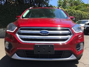 2017 Ford Escape Titanium Engine 20L Ecoboost Ruby Red Metallic Tinted Clearco All advertised