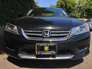 2015 Honda Accord Sedan LX  Crystal Black Pearl All advertised prices exclude government fees a