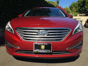 2015 Hyundai Sonata SE  Venetian Red  All advertised prices exclude government fees and taxes