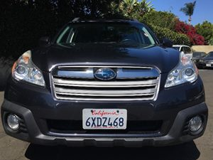 2013 Subaru Outback 25i Premium  Graphite Gray Metallic  All advertised prices exclude governm