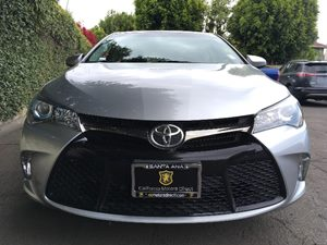 2015 Toyota Camry SE  Celestial Silver Metallic  All advertised prices exclude government fees