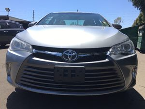 2015 Toyota Camry LE  Celestial Silver Metallic  All advertised prices exclude government fees