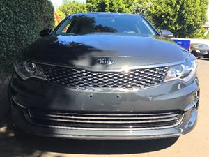 2016 Kia Optima EX  Gray All advertised prices exclude government fees and taxes any finance c