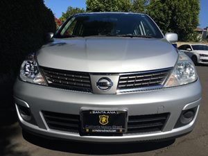 2008 Nissan Versa 18 S  Brilliant Silver Metallic  All advertised prices exclude government fe