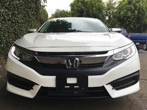 2016 Honda Civic Sedan EX  White Orchid Pearl  All advertised prices exclude government fees an
