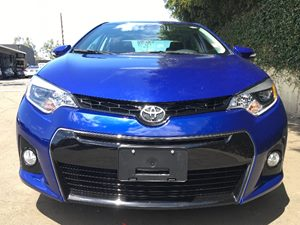 2016 Toyota Corolla S Plus  Blue Crush Metallic  All advertised prices exclude government fees