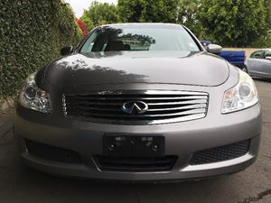 2009 INFINITI G37 Sedan Base  Gray  All advertised prices exclude government fees and taxes an