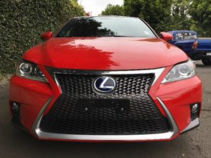 2015 Lexus CT 200h F-Sport  Red  All advertised prices exclude government fees and taxes any f