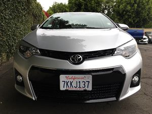2015 Toyota Corolla S Plus  Classic Silver Metallic  All advertised prices exclude government f
