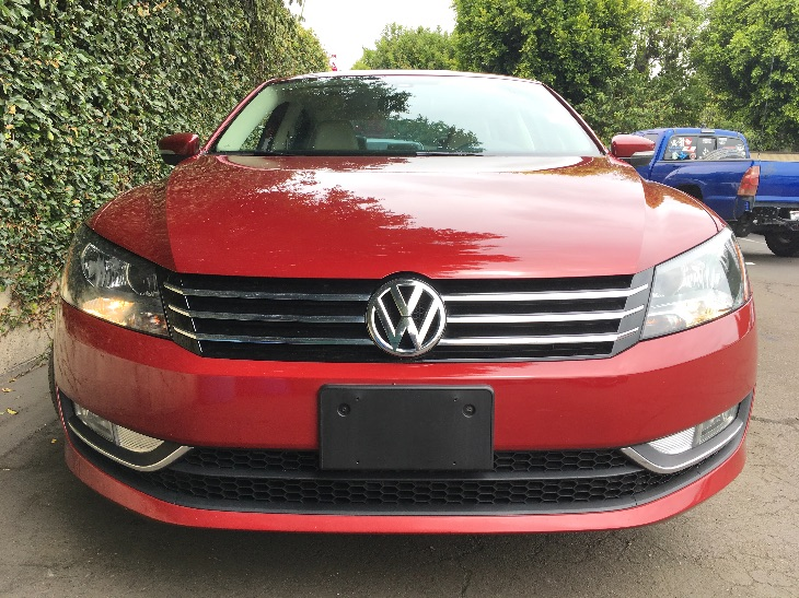 2015 Volkswagen Passat Limited Edition PZEV  Fortana Red All advertised prices exclude governme