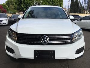 2015 Volkswagen Tiguan S  White  All advertised prices exclude government fees and taxes any f