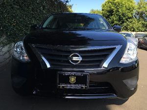 2015 Nissan Versa 16 SV  Super Black All advertised prices exclude government fees and taxes