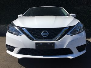 2017 Nissan Sentra S  Aspen White All advertised prices exclude government fees and taxes any
