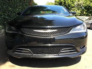 2015 Chrysler 200 S  Black All advertised prices exclude government fees and taxes any finance