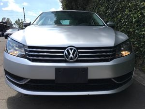 2013 Volkswagen Passat S PZEV  Silver All advertised prices exclude government fees and taxes