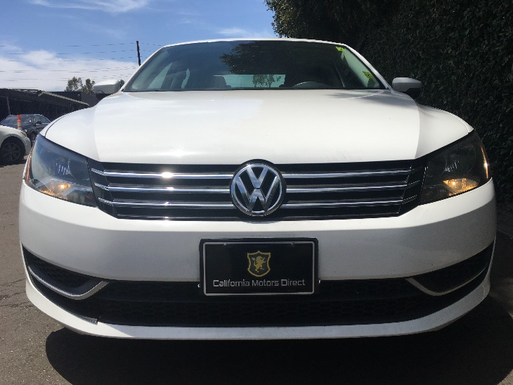 2014 Volkswagen Passat S PZEV  Candy White All advertised prices exclude government fees and ta