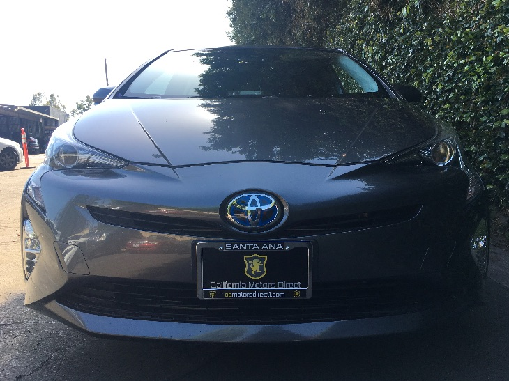 2016 Toyota Prius Three Touring  Magnetic Gray Metallic All advertised prices exclude governmen