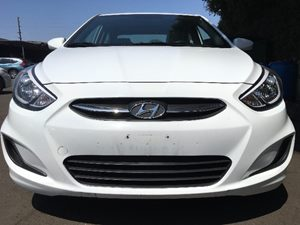 2016 Hyundai Accent SE  Century White All advertised prices exclude government fees and taxes