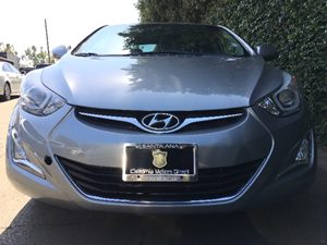 2015 Hyundai Elantra SE  Titanium Gray Metallic All advertised prices exclude government fees a