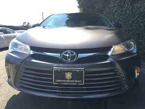 2015 Toyota Camry LE  Gray All advertised prices exclude government fees and taxes any finance