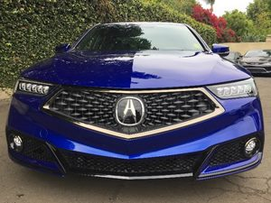 2018 Acura TLX V6 wA-SPEC  Blue All advertised prices exclude government fees and taxes any f