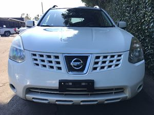 2009 Nissan Rogue SL  Phantom White All advertised prices exclude government fees and taxes an