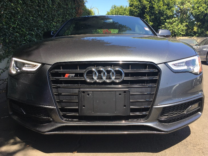 2015 Audi S5 30T quattro Premium  Gray All advertised prices exclude government fees and taxes