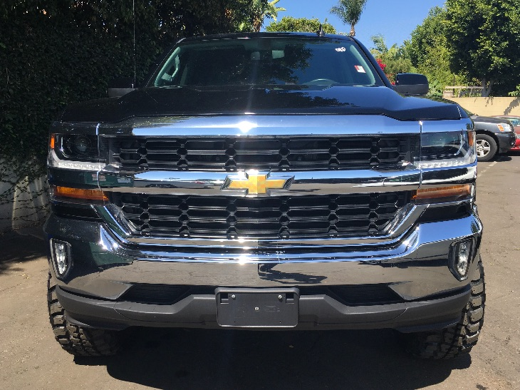 2016 Chevrolet Silverado 1500 LT Led Lighting Cargo Box Lpo Tri-Fold Soft Tonneau Cover Lt Eas