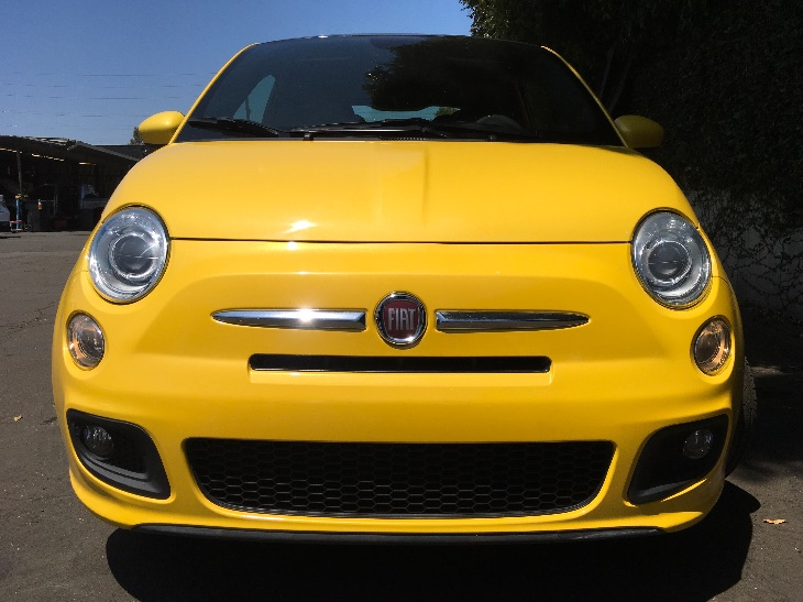 2015 FIAT 500 Sport  Giallo Moderna Perla Pearl Yell All advertised prices exclude government