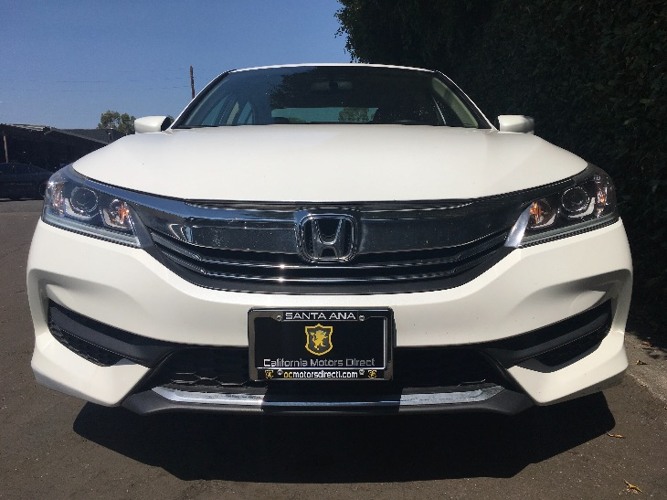 2016 Honda Accord Sedan LX  White Orchid Pearl All advertised prices exclude government fees an