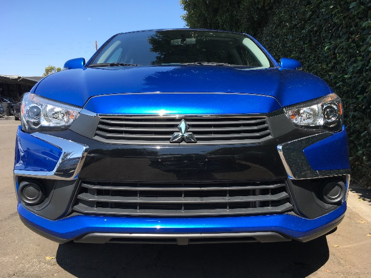 2016 Mitsubishi Outlander Sport ES  Octane Blue Metallic All advertised prices exclude governme