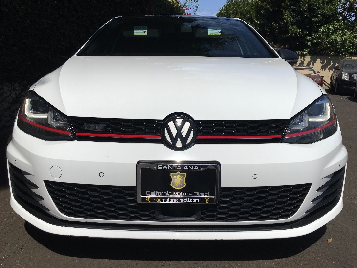 2015 Volkswagen Golf GTI SE  Pure White All advertised prices exclude government fees and taxes