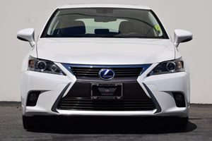 2015 Lexus CT 200h BASE Hybrid Carfax 1-Owner  Eminent White  24842 Per Month -ON APPROVED C