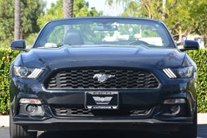 2016 Ford Mustang EcoBoost Premium Carfax 1-Owner  Shadow Black 27441 Per Month -ON APPROVED
