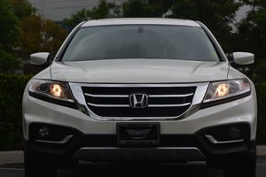 2013 Honda Crosstour EX Carfax 1-Owner  White Diamond Pearl 20295 Per Month -ON APPROVED CRE