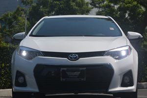2015 Toyota Corolla S Plus Carfax 1-Owner - No AccidentsDamage Reported  Super White 20295