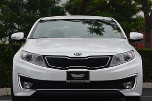 2013 Kia Optima Hybrid LX Carfax 1-Owner  Snow White Pearl 17047 Per Month -ON APPROVED CRED