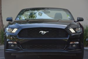2016 Ford Mustang EcoBoost Premium Carfax 1-Owner  Shadow Black 25492 Per Month -ON APPROVED