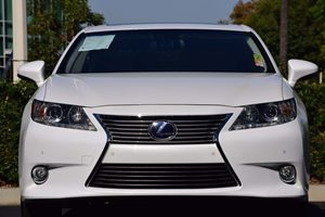 2014 Lexus ES 300h PREMIUM SULEV Carfax 1-Owner Blind Spot Monitor WRear Cross Traffic Alert Lu