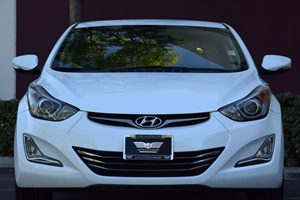 2014 Hyundai Elantra Limited Carfax 1-Owner - No AccidentsDamage Reported 294 Axle Ratio 90 Am