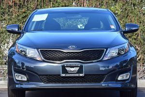 2015 Kia Optima LX Carfax 1-Owner  Smokey Blue 16398 Per Month -ON APPROVED CREDIT---  -