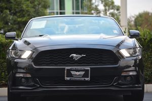 2017 Ford Mustang EcoBoost Premium Carfax 1-Owner - No AccidentsDamage Reported  Shadow Black