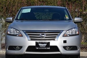2014 Nissan Sentra SL Carfax 1-Owner  Brilliant Silver 16398 Per Month -ON APPROVED CREDIT-