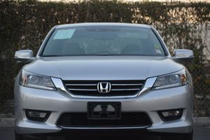 2014 Honda Accord Sedan EX-L Carfax 1-Owner  Alabaster Silver Metallic  We are not responsible