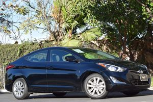 2015 Hyundai Elantra SE Carfax 1-Owner Abs And Driveline Traction Control Airbag Occupancy Senso